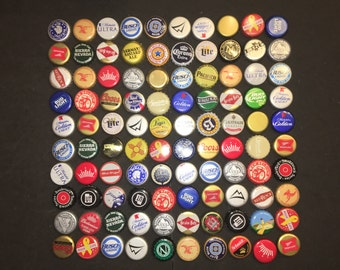 100 beer caps no dent