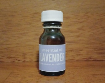 LAVENDER Natural Essential Oil 20mL // Cosmetic and Aromatherapy