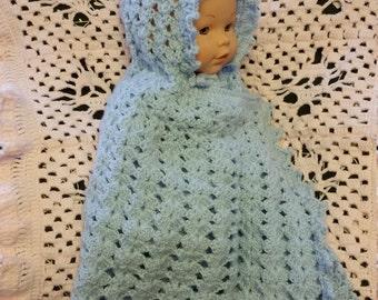 Baby Cape/Blue baby cape/newborn cape