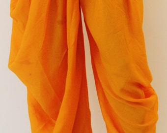 Mango Yellow Dhoti Pants/Yoga Pants