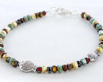 Fishie - Beaded Bracelet
