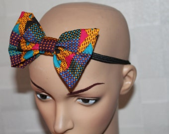 Set of three Fabric Bow Headband