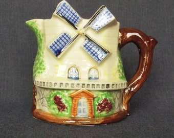 Vintage Windmill Creamer, Made in Japan