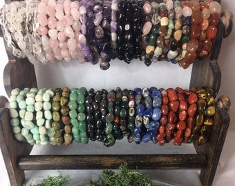 Crystal Gemstone Bracelets