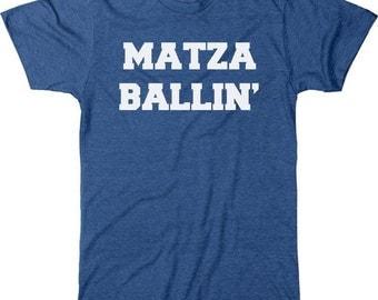 Matza Ballin' Men's Tri-blend T-Shirt