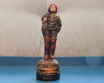 Ceramic Fisherman Figurine - Dieppe - I-A Ceramique d'Art