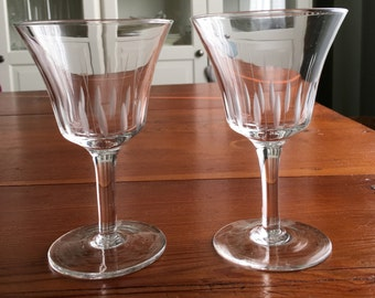 vintage wine glasses 2