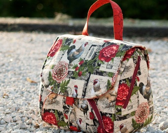 Grace Travel Satchel - Toiletry Bag Toiletry Case PDF Sewing Bag Pattern RLR Creations