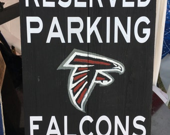 Football Fan Parking Sign