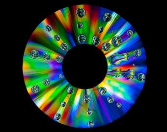 Colour spectrum wheel, colour wheel, Rainbow wheel, colour spectrum