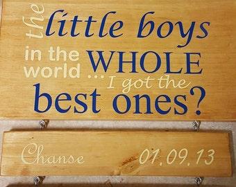 Parent of Little Boys Plaque