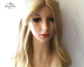 Bridal Tiara, Swarovski Crystal Tiara, Princess Tiara, Wedding Tiara, Crystal Wedding Crown, Bridal Crown, Luxury crown, Wedding Crown
