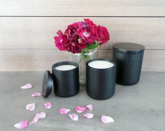 Medium Sandstone Range - Natural Soy Wax - Container Candle