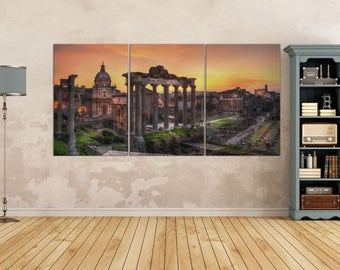Italy Wall Art rome print | etsy