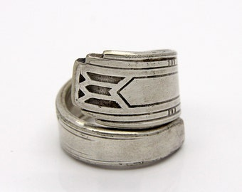 Spoon Ring - Size 6.5 - Hand Bent By The CrafsMan - Steady Craftin'