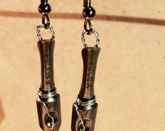Caligraphy Pen Earrings