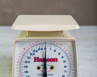 Vintage-Hanson Kitchen Scale-Food Photography Prop