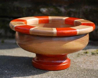 Segmented Coral Snake Bowl