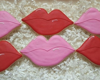 Xoxo Sweet kisses Cookies Valentine's Day