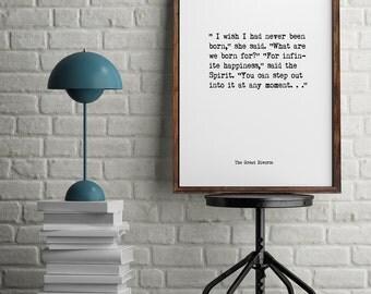 C.S Lewis, Book Quotes, Wall Art, Inspiring Quotes, Minimalist Art, Vintage Art, Home Decor, Typographic Art,  Literary Art, Library Art