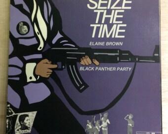Soul Funk LP Elaine Brown Seize The Time Vintage Vault Records Vinyl Black Power