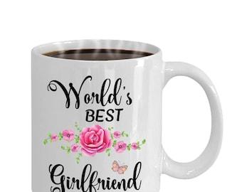 World's Best Girlfriend Coffee Mug | Girlfriend Gift Idea, Girlfriend Gifts, Girlfriend Gifts, Girlfriend Mugs, Girlfriend Gift Idea