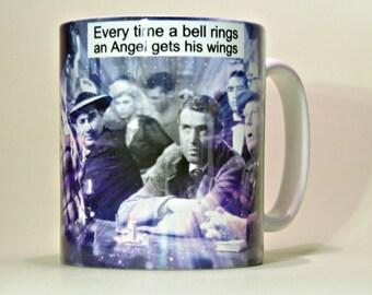 A Wonderful Life Mug, Wonderful Life Gift, Wonderful Life Present, It's A Wonderful Life Mug.