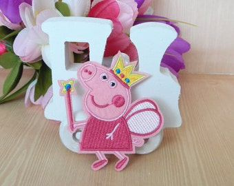 Peppa Pig Iron On Transfter Patch