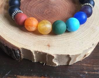 Reiki Infused Chakra Crystal Bracelet