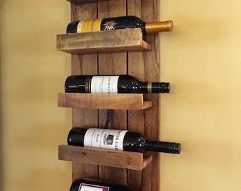 wall wine rack rustic wine rack wine rackwall mounted wine rack