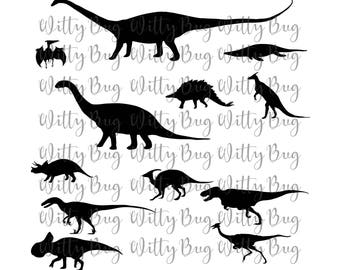 Dinosaur SVG file - Cutting file - Cutting - SVG - SVG File - Cricut cut file - Silhouette cut file - Dinosaur - Dinosaurs - Kids svg