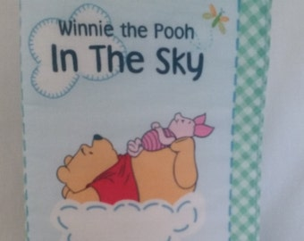 Winnie the Pooh In the Sky Cloth Baby Book