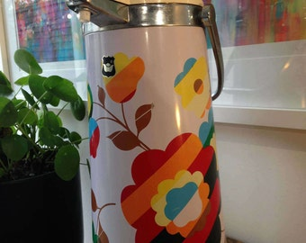Funky retro 1970's pump pot drinks dispenser