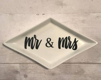 spouse ring dish-mr and mrs, mr and mr, mrs and mrs