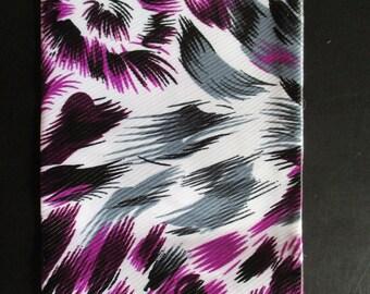 Feather satin scarves. 4 models