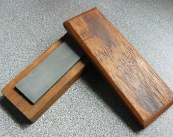 Small Vintage Whetstone, Knife Sharpener, Tool Sharpener, Rustic