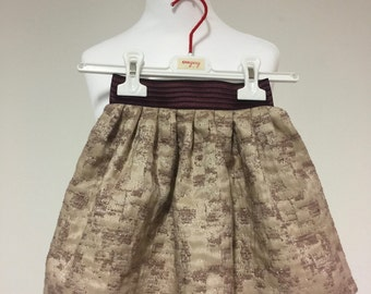 Lurex Brocade SKIRT GIRL