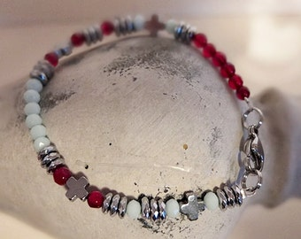 "Bracelet ""Fuchsia"""