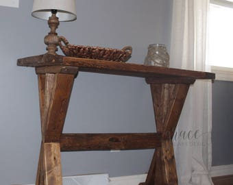 Farmhouse Entryway Table