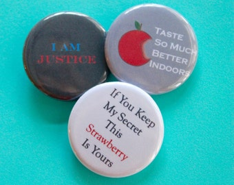 Death Note Quotes 1.25 in Buttons