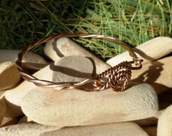 Celtic ,Viking Solid Bronze  Bangle