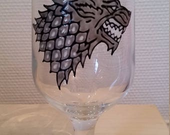 The Stark Wolf beer glass
