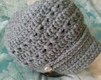 Thick Crochet Winter Hat