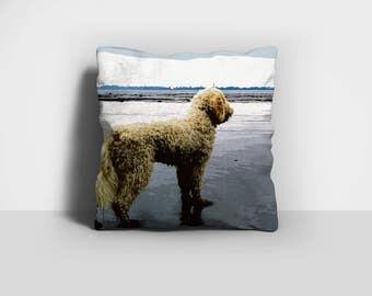 Doodle Pillow, Dog Pillow, Throw Pillow, Goldendoodle Pillow, Labradoodle Pillow, Home Decor, Decorative Pillow, Pillow Case, Pillow Cover