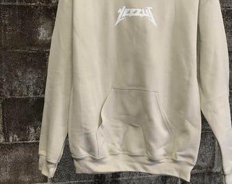 Yeezus Hoodie - Kanye West Yeezus Tour Hoodie - Yeezie - Must Have - Super Sale!