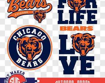 Chicago bears | Etsy