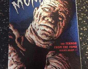 The Mummy # 1 Comic by Monster Comics