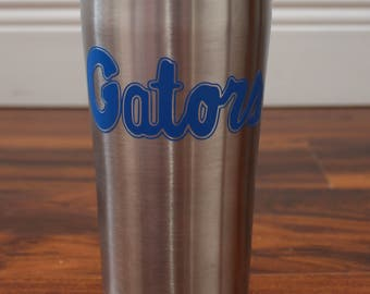 University of Florida Gators 20oz Tumbler/Decal