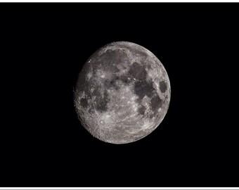 The Moon A3 Photo Print
