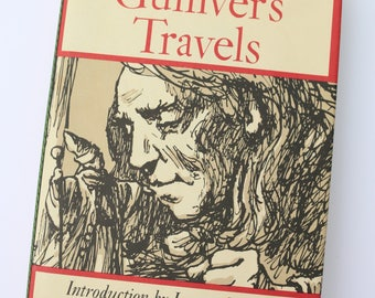 Gulliver's Travels by Jonathan Swift, illustrated by Warren Chappell, Oxford University Press, 1977